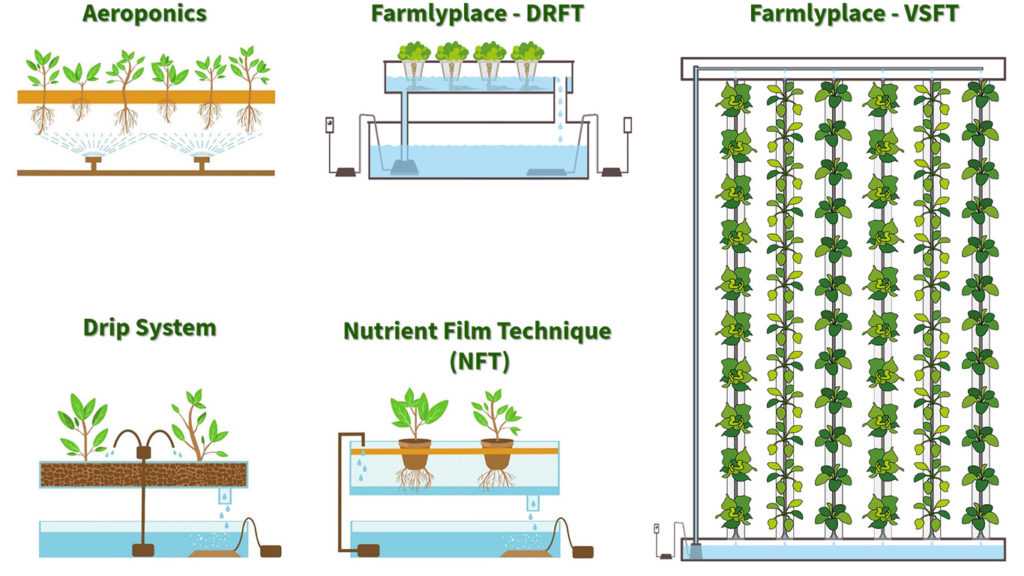 hydroponic methods at a glance