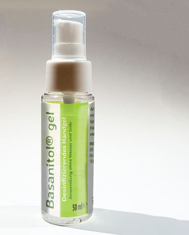 bottle Basanitol® gel by Farmlyplace